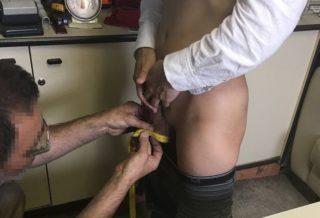 Carrara 貞操帯の採寸
